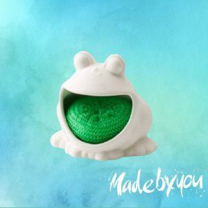 Kurt-Frog-Béka-szivacs-tartó-MadeByYou-Budapest